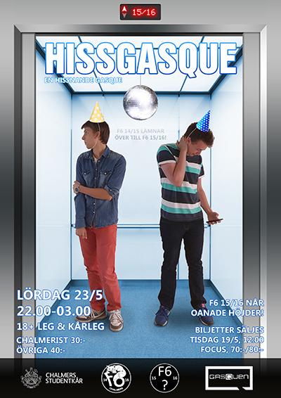 Affisch Hissgasque